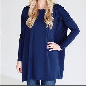 Piko Tunic/Dress in Navy Blue like New!!